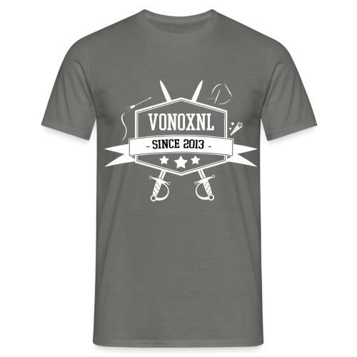 vonoxnl trans 300dpi 2 - Mannen T-shirt