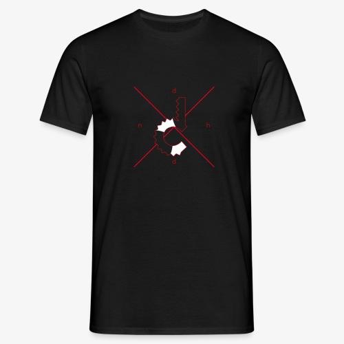 dnhd logo shirt1 png - Men's T-Shirt
