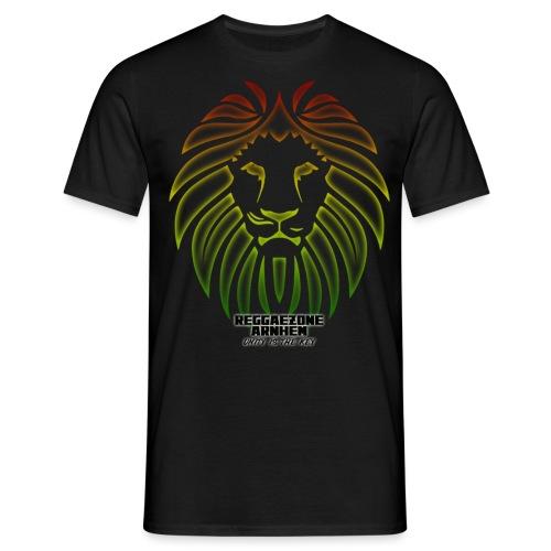 reggaezone lion TSHIRTONTWERP1 png - Mannen T-shirt