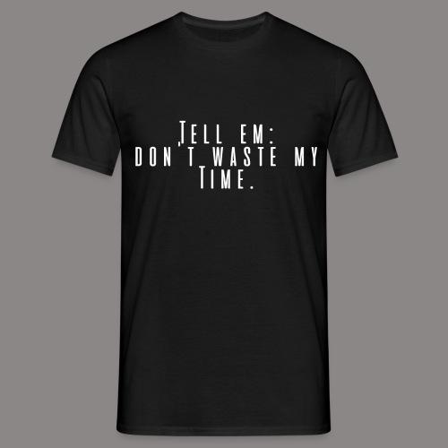 tellemwhite - Männer T-Shirt
