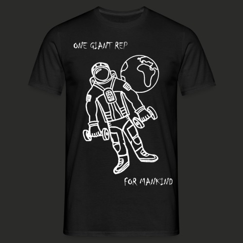 One Giant Rep For Mankind - Men's T-Shirt