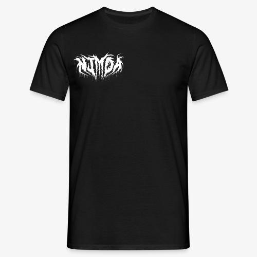 Nimda new old logo white - Men's T-Shirt