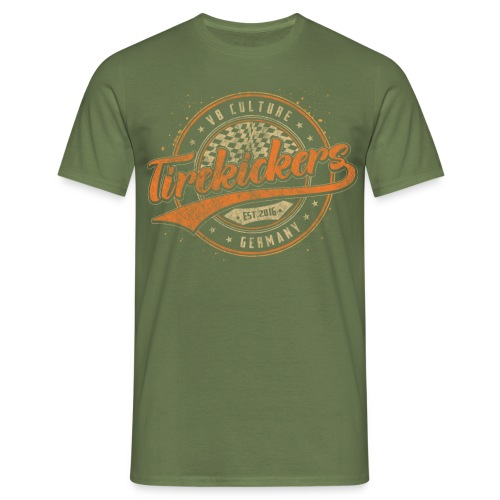 Tirekickers Racing - V8 Culture - Männer T-Shirt