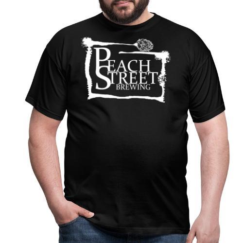 Peach Street Brewing Loggo - T-shirt herr