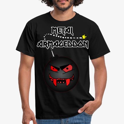 Metal Armageddon - Männer T-Shirt