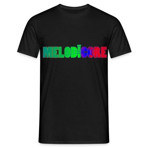 Melodïcore Logo - Men's T-Shirt