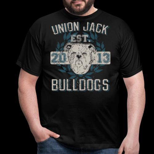 Union Jack Bulldogs - Männer T-Shirt
