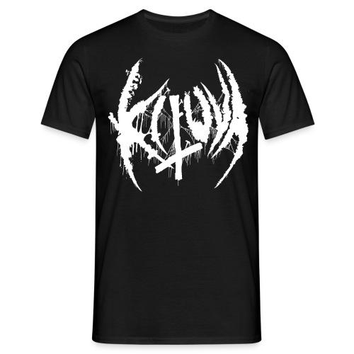 Kituva white logo - Miesten t-paita