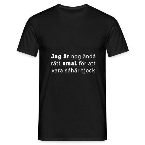 Jag är smal-kollektionen 2019 - T-shirt herr