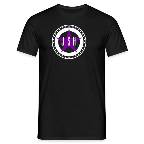 jshlogo13lw - Men's T-Shirt