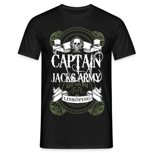 Captain Jack s Army Motiv copy kopia png - T-shirt herr