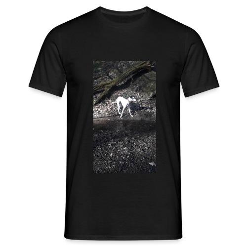 lurcher_love - Men's T-Shirt