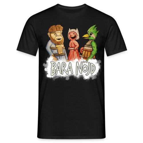 baranojd4 png - T-shirt herr