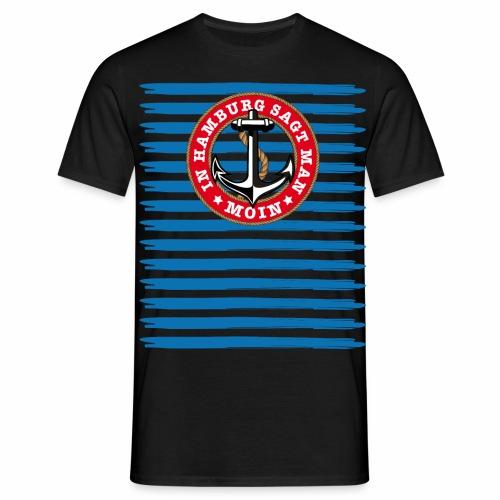 79 In Hamburg sagt man Moin Anker Seil - Männer T-Shirt