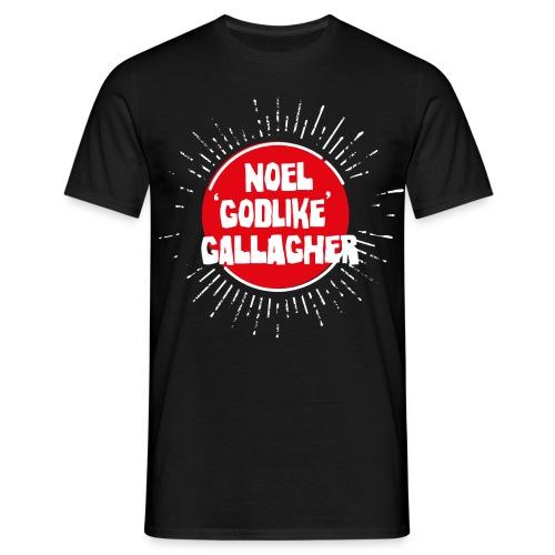 Noel Gallagher 'Godlike' - White on Red - Maglietta da uomo