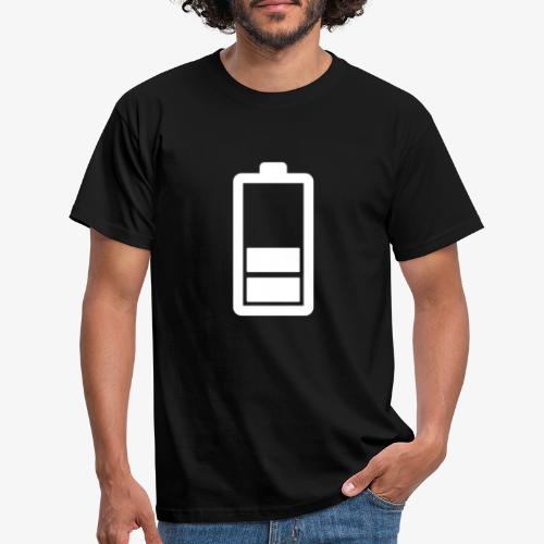 Akkustatus - Männer T-Shirt
