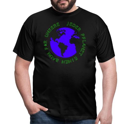 Gruene Welt - Männer T-Shirt