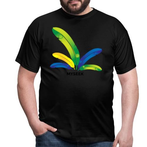 Bright Feather - Men's T-Shirt