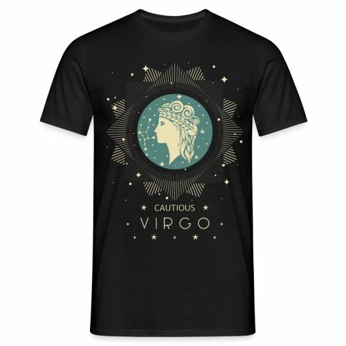 Sternzeichen Behutsame Jungfrau August September - Männer T-Shirt