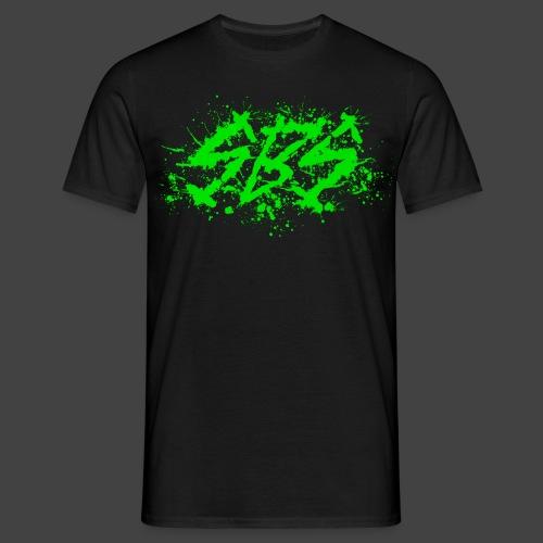 SBS Splatter Green Logo - Maglietta da uomo