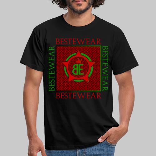 #Bestewear - Royal Line (Green/Red) - Männer T-Shirt