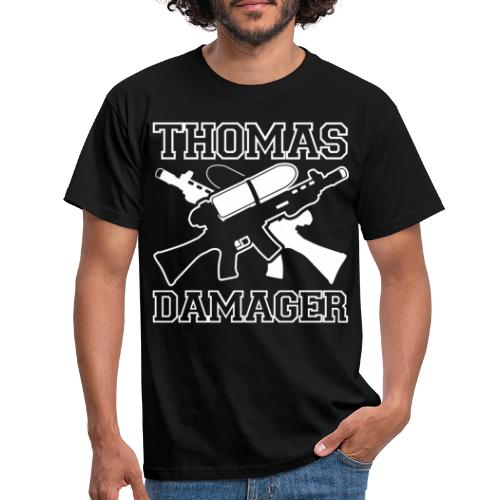 Thomas Damager Logo - Männer T-Shirt