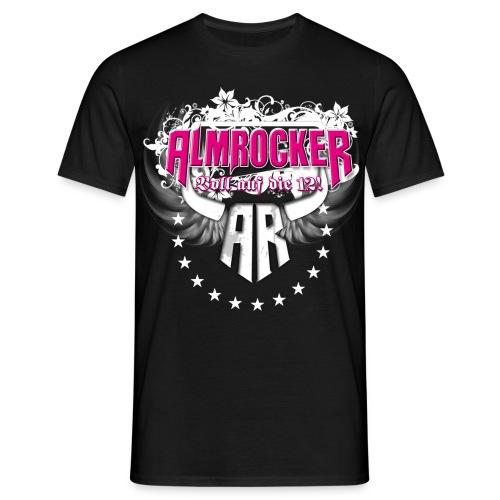 AlmRocker Logo Schriftzzug - Männer T-Shirt