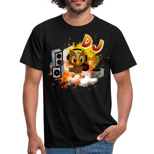Eule DJ - Männer T-Shirt