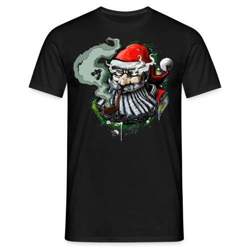 Santa SMOKED - Men's T-Shirt