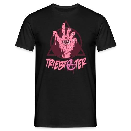 triebtäter handle with triangle - Männer T-Shirt