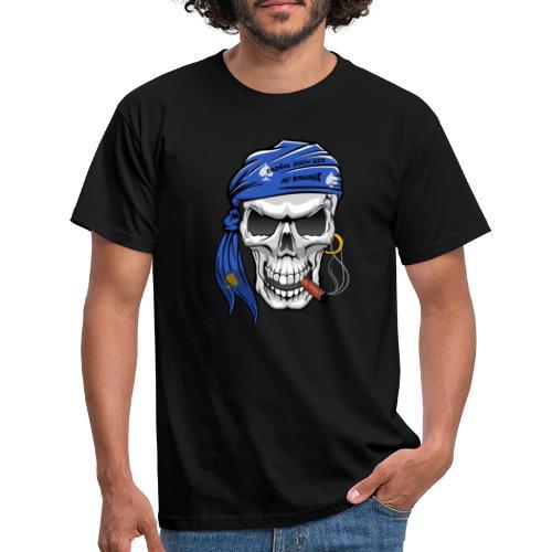 born skull new freigestellt - Männer T-Shirt