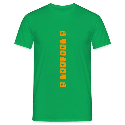 P loofool P - Orange logo - T-skjorte for menn