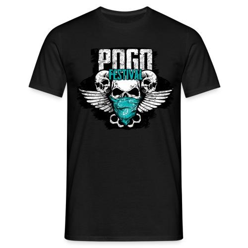Pogo Festival - Fallen, Aufstehen, Weiter, Machen - Männer T-Shirt