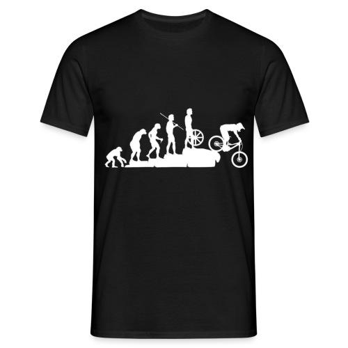 mountain bike evolution negativo - Maglietta da uomo