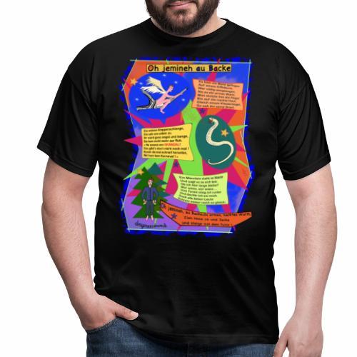 Oh Jemineh au Backe - Men's T-Shirt