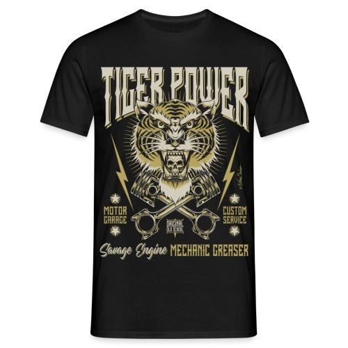 Poder del tigre - Camiseta hombre