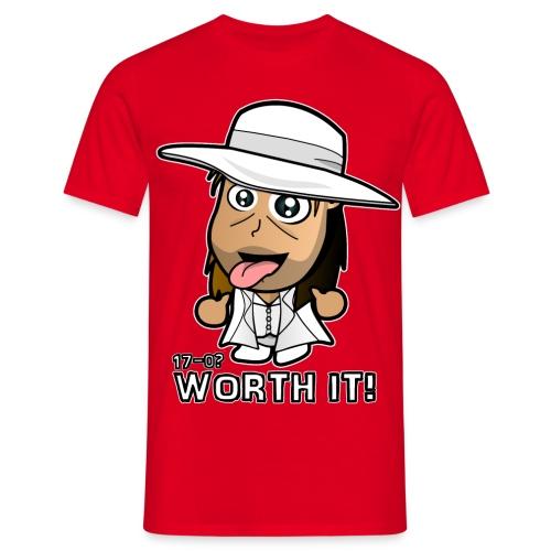 Chibi Light HBK - Worth It - Men's T-Shirt
