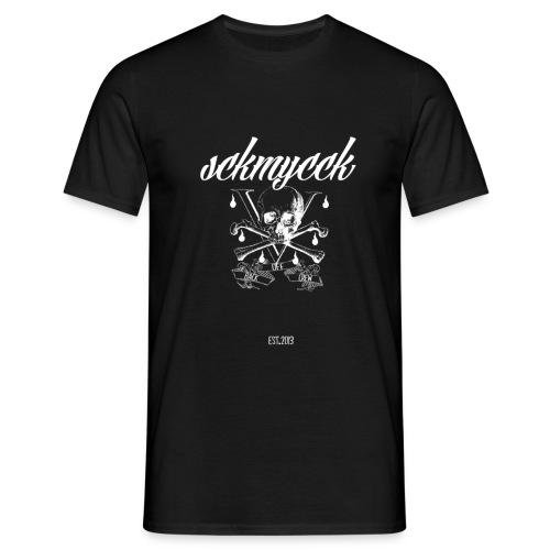 Sckmycck Skullhead png - Männer T-Shirt