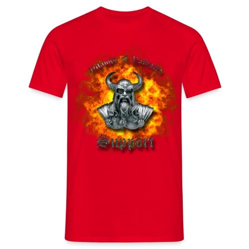 Ild png - Herre-T-shirt