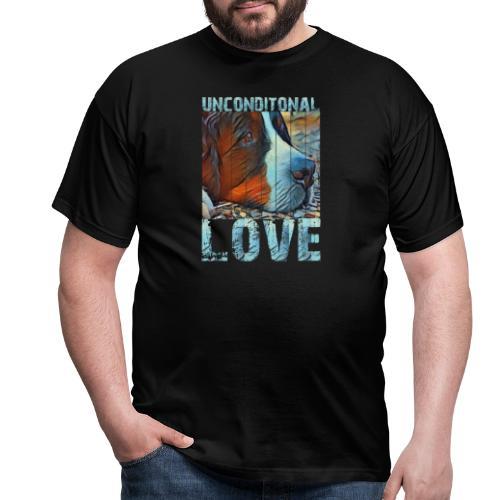 Bernese mountain dog - Mannen T-shirt