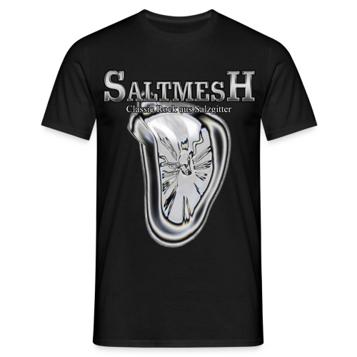 Saltmesh Logo Transparent groß 2 png - Männer T-Shirt