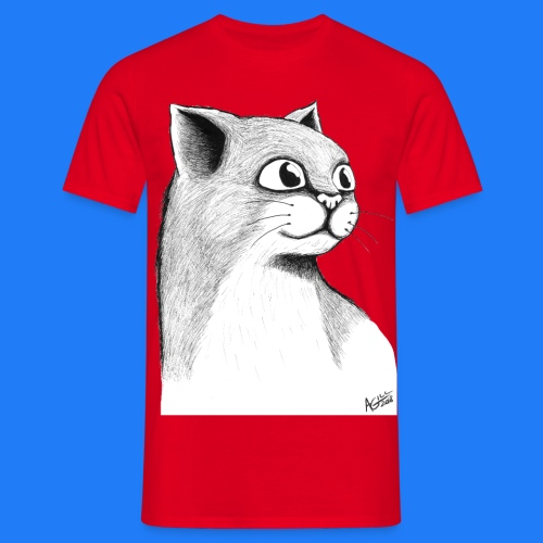 CAT HEAD by AGILL - T-shirt Homme