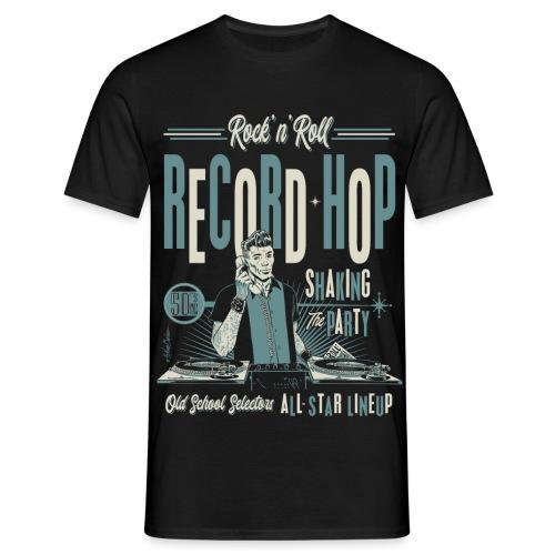 Record Hop - Camiseta hombre