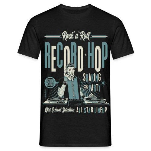Record Hop - Men's T-Shirt