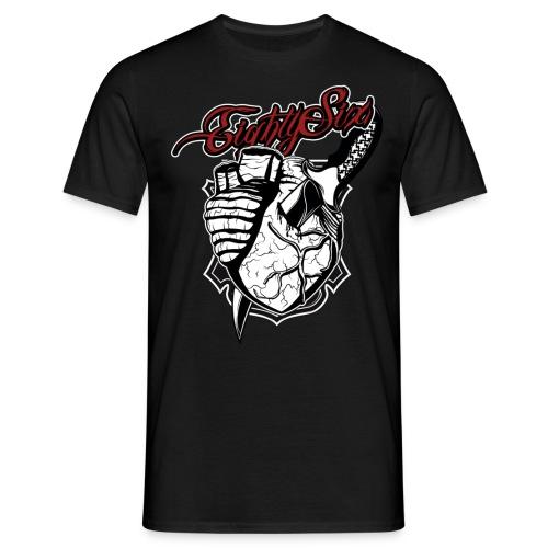 Stabbed Heart - Männer T-Shirt