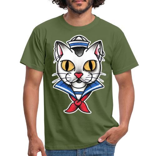 Sailorcat - Maglietta da uomo