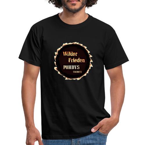 Wilder Frieden Logo - Männer T-Shirt