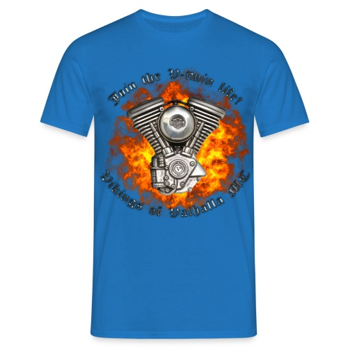 V twin png - Herre-T-shirt