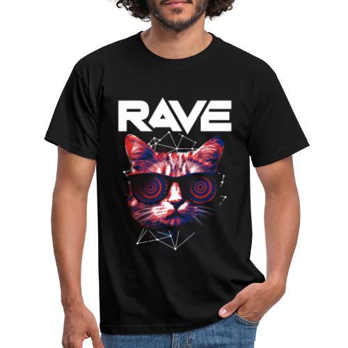 Ravecat - Männer T-Shirt