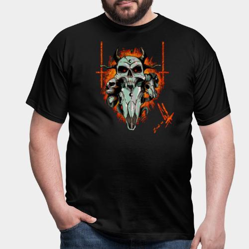Skulls - Maglietta da uomo